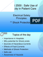 Shock protection in the OR