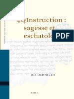 4QInstruction-sagesse et eschatologie.pdf