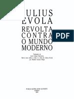 Julius Evola - Revolta Contra o Mundo Moderno.pdf
