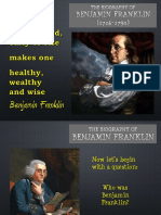 Benjamin Franklin – Interactive Biographies for Kids