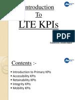 HUAWEI RAN KPI for Performance Managemen