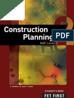 Construction planing level