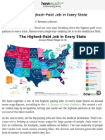 Visualizing the Highest-Paid Job in Every State