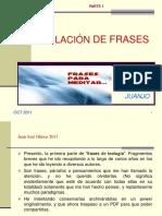 VARIOS AUTORES- Recopilacion de Frases de Teologia. 2011