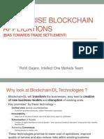Enterprise BlockChain Applications 2