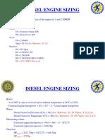 Diesel Engine Selection