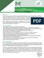 CITM Course Brochure