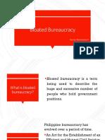 Bloated Bureaucracy