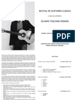 PROGRAMA ÁLVARO TOSCANO