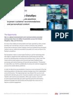 Sky Case Study From DevOps to DataOps