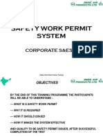 Safety Work Permit System