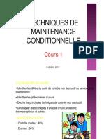Cours 1- Maintenance Conditionnelle