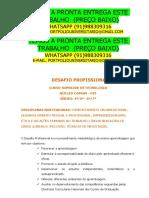 Desafio Profissional_nc_cst_2019_1 (1) Temos a Pronta Entrega Whatsapp 91988309316