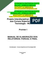 Prointer I_nc_cst_2019_1 Temos a Pronta Entrega Whatsapp 91988309316