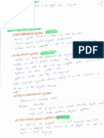 Language Acquisition notes