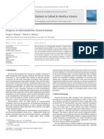 Progress in Microemulsion Characterization