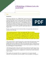 On Philosophical Methodology.docx