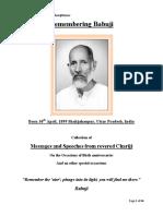 Chariji's talks and messages - Special colletion on Birth Anniversay of Babuji Majaraj.pdf