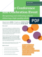 WE Summer Conference