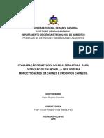 Deteçao de Microorganismos em carnes.pdf
