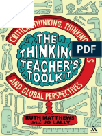 Thinking Teachers Toolkit Critical Thinking, Thinking Skills and Global Perspectives
