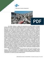 0 - Urbanização No Mundo Contemporâneo