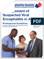 Management of Suspected Viral Encephalitis in Adults