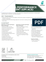 FSA11 Operating Performance Improvement (OPI)