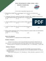 "Concursul National de Matematica ""Sfera"" 2016 - Clasa a II-A"