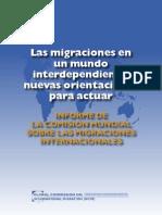 Informe de La Comision Mundial Sobre Las Migraciones Internacionales