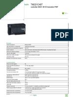 _EcoStruxure™ Controlador lógico - Modicon M221 _TM221C40T