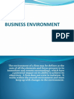 5.0 Business Environment