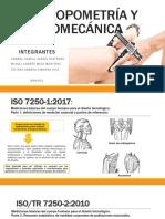 Normas Iso Antropometria y Biomecanica