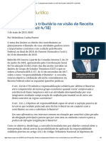 ConJur - O Planejamento Tributário Na Visão Da Receita Federal (PN Cosit 4_18)