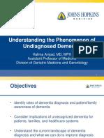 Is Dementia Underdiagnosed?