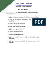 Cuestionario Nº 6 Trabajo Mecánico, Potencia Mecánica y Energía Mecánica 4to.pdf