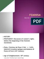 Feminism by Ishana Ahmed