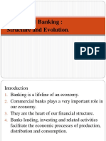 BANKING STRUCTURE AND EVOLUTION