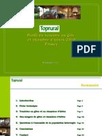 Profil Touriste Gîtes et Chambres d'hôtes France - 2010