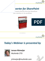 PDF Converter for SharePoint Webcast