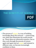 The Benefits of Science