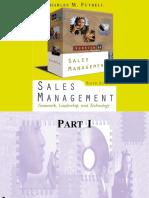 Sales Management,6E - Charles M. Futrell