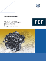 SSP 495 3.0L V6 TDI Engine 2 Generation