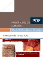 Historia Del Diseño Editorial