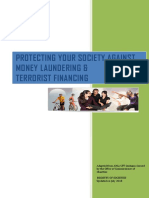 Protecting Your Society Against Money Laundering & Terrorist Financing