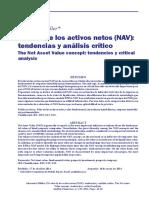 Análisisfinanciero - El Valor de Los Activos Netos [3.1]
