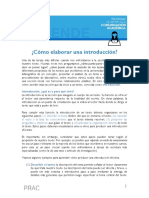 14 Como Elaborar Una Introduccion