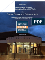 Arapahoe High School Community Coalition Report