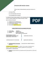 Estructura Del Macizo Rocoso