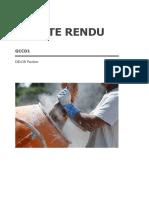 Compte Rendu _ Travaux pratiques